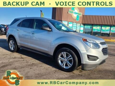 2017 Chevrolet Equinox for sale at R & B Car Co in Warsaw IN
