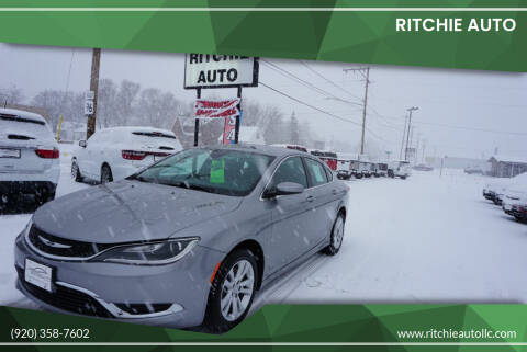 2015 Chrysler 200 for sale at Ritchie Auto in Appleton WI
