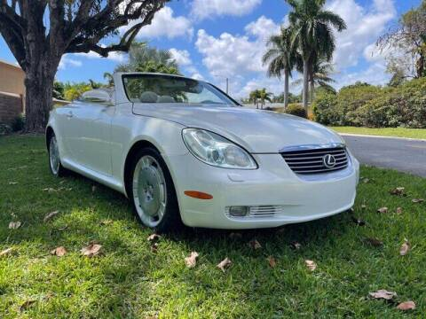 2002 Lexus SC 430 for sale at Hickory Used Car Superstore in Hickory NC