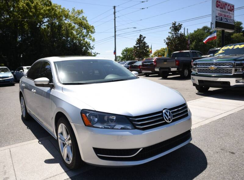 2014 Volkswagen Passat for sale at Grant Car Concepts in Orlando FL