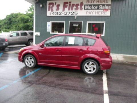 2004 Pontiac Vibe for sale at R's First Motor Sales Inc in Cambridge OH