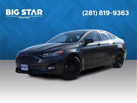 2019 Ford Fusion for sale at BIG STAR HYUNDAI in Houston TX
