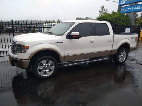 2013 Ford F-150 for sale at MILLENNIUM MOTORS INC in Monroe WA