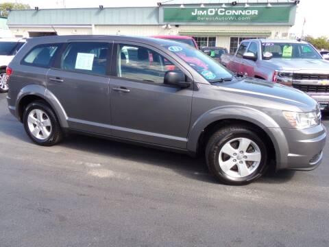 2013 Dodge Journey for sale at Jim O'Connor Select Auto in Oconomowoc WI