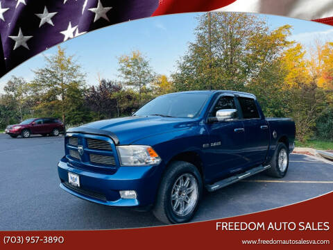 2010 Dodge Ram Pickup 1500 for sale at Freedom Auto Sales in Chantilly VA