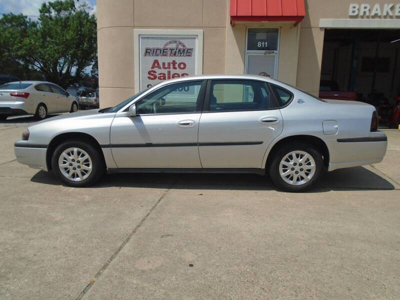 2004 Chevrolet Impala for sale at Ridetime Auto in Suffolk VA