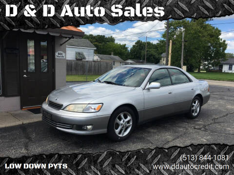 2000 Lexus ES 300 for sale at D & D Auto Sales in Hamilton OH