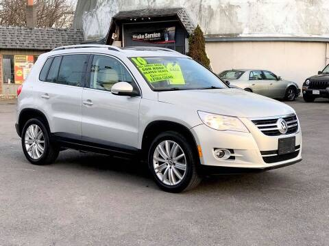 2010 Volkswagen Tiguan for sale at United Auto Service in Leominster MA