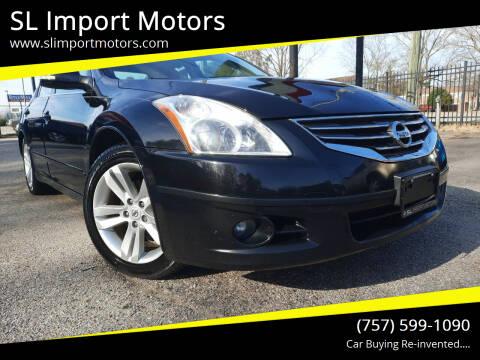 2012 Nissan Altima for sale at SL Import Motors in Newport News VA
