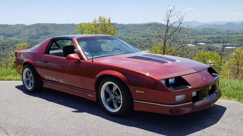 1989 Chevrolet Camaro for sale at Rare Exotic Vehicles in Weaverville NC