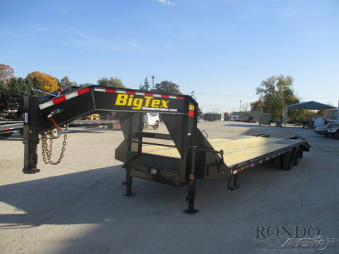 2021 Big Tex Gooseneck 22GN-25BK+5 for sale at Rondo Truck & Trailer in Sycamore IL