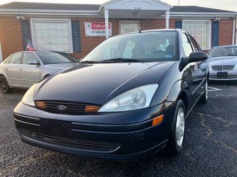 2002 Ford Focus for sale at Carland Auto Sales INC. in Portsmouth VA