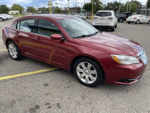 2013 Chrysler 200 for sale at RPM AUTO SALES in Lansing MI