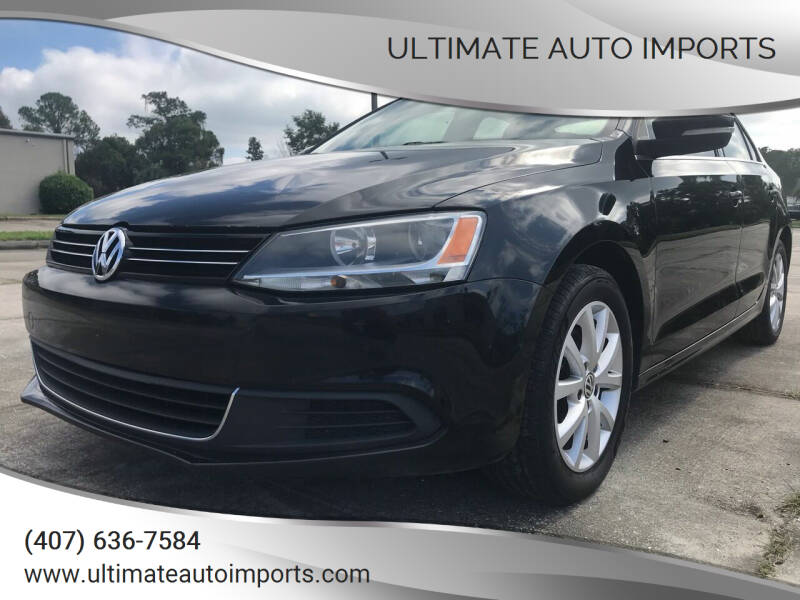 2013 Volkswagen Jetta for sale at ULTIMATE AUTO IMPORTS in Longwood FL