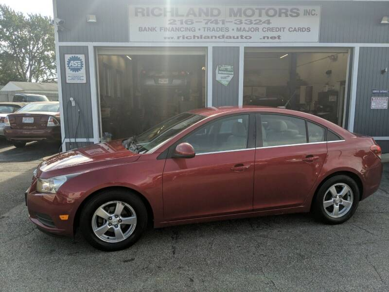2011 Chevrolet Cruze for sale at Richland Motors in Cleveland OH