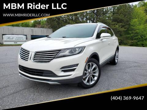 2015 Lincoln MKC for sale at MBM Rider LLC in Alpharetta GA