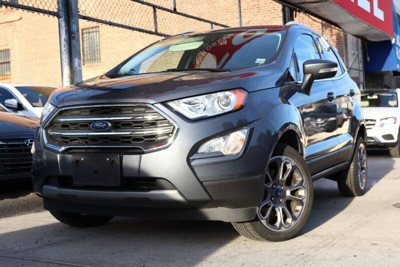 2019 Ford EcoSport for sale at HILLSIDE AUTO MALL INC in Jamaica NY