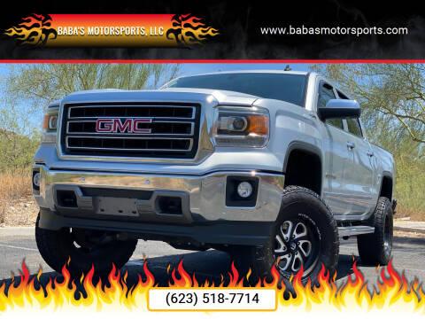 2014 GMC Sierra 1500 for sale at Baba's Motorsports, LLC in Phoenix AZ