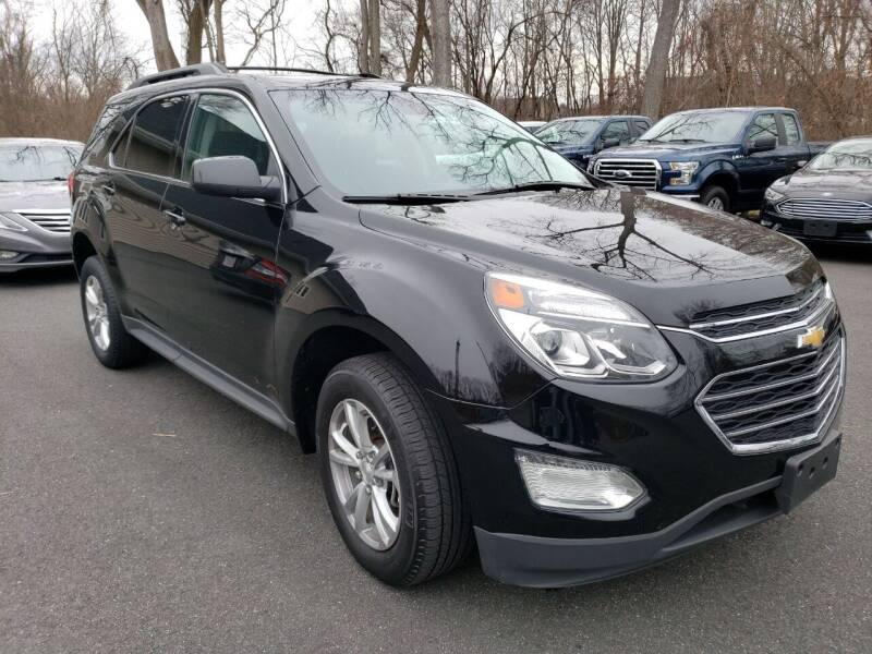 2017 Chevrolet Equinox for sale at KLC AUTO SALES in Agawam MA