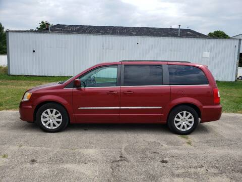 2013 Chrysler Town and Country for sale at Steve Winnie Auto Sales in Edmore MI