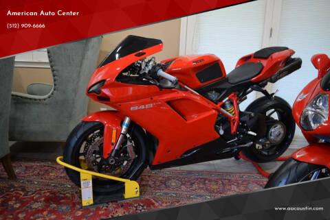 2013 Ducati 848 EVO for sale at American Auto Center in Austin TX