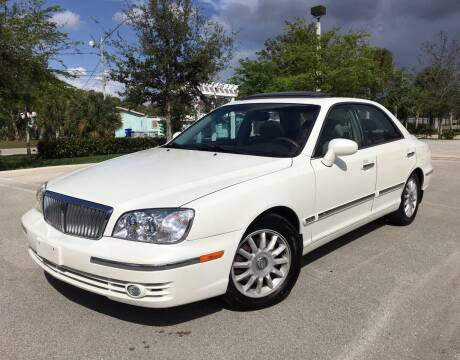 2005 Hyundai XG350 for sale at FIRST FLORIDA MOTOR SPORTS in Pompano Beach FL