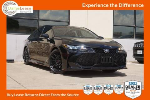 2020 Toyota Avalon for sale at Dallas Auto Finance in Dallas TX