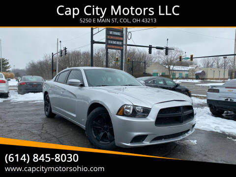 2012 Dodge Charger for sale at Cap City Motors LLC in Columbus OH