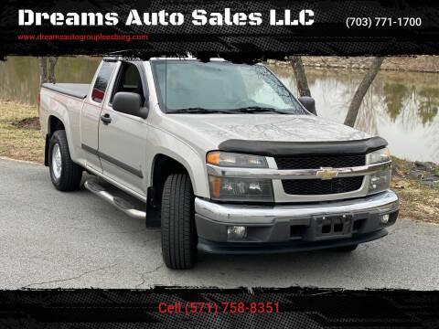 2008 Chevrolet Colorado for sale at Dreams Auto Sales LLC in Leesburg VA