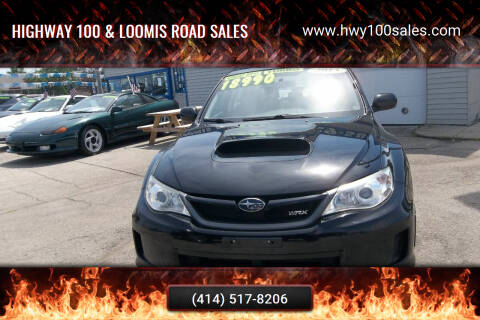 2013 Subaru Impreza for sale at Highway 100 & Loomis Road Sales in Franklin WI