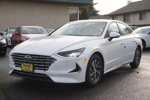 2021 Hyundai Sonata Hybrid for sale at Jeremy Sells Hyundai in Edmunds WA