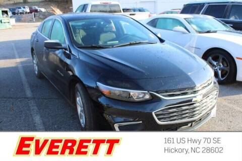 2017 Chevrolet Malibu for sale at Everett Chevrolet Buick GMC in Hickory NC
