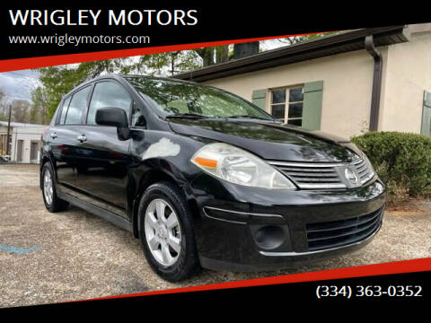 2008 Nissan Versa for sale at WRIGLEY MOTORS in Opelika AL