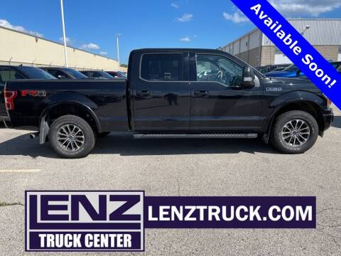 2020 Ford F-150 for sale at LENZ TRUCK CENTER in Fond Du Lac WI