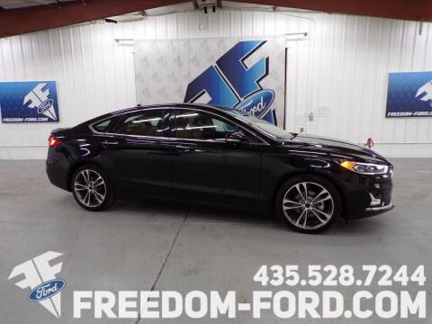 2020 Ford Fusion for sale at Freedom Ford Inc in Gunnison UT