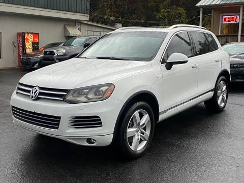 2014 Volkswagen Touareg for sale at Luxury Auto Innovations in Flowery Branch GA