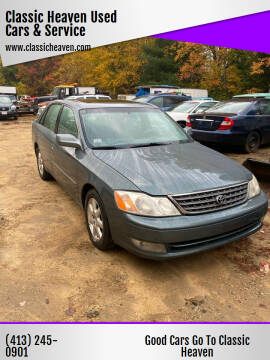 2002 Toyota Avalon for sale at Classic Heaven Used Cars & Service in Brimfield MA