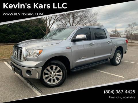 2013 Toyota Tundra for sale at Kevin's Kars LLC in Richmond VA