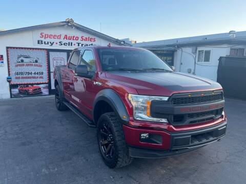 2018 Ford F-150 for sale at Speed Auto Sales in El Cajon CA