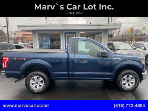 2017 Ford F-150 for sale at Marv`s Car Lot Inc. in Zeeland MI