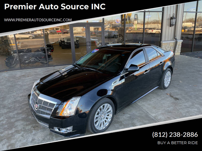 2010 Cadillac CTS for sale at Premier Auto Source INC in Terre Haute IN