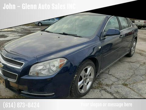 2008 Chevrolet Malibu for sale at John - Glenn Auto Sales INC in Plain City OH