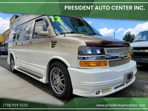 2012 Chevrolet Express Cargo for sale at President Auto Center Inc. in Brooklyn NY