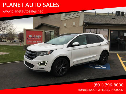 2018 Ford Edge for sale at PLANET AUTO SALES in Lindon UT