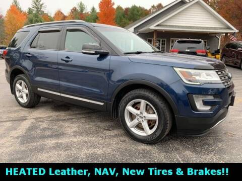 2017 Ford Explorer for sale at Drivers Choice Auto & Truck in Fife Lake MI