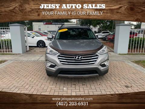 2013 Hyundai Santa Fe for sale at JEISY AUTO SALES in Orlando FL