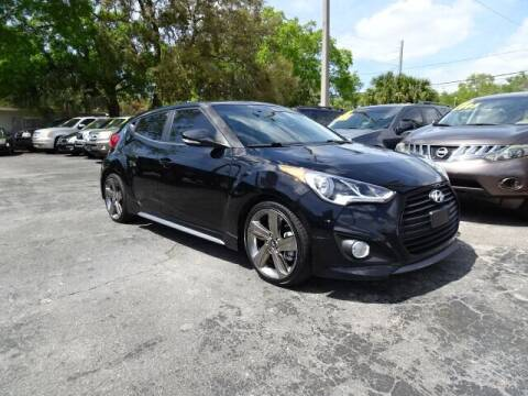 2014 Hyundai Veloster for sale at DONNY MILLS AUTO SALES in Largo FL