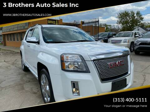 2013 GMC Terrain for sale at 3 Brothers Auto Sales Inc in Detroit MI