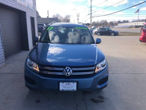 2017 Volkswagen Tiguan for sale at Auto Import Specialist LLC in South Bend IN