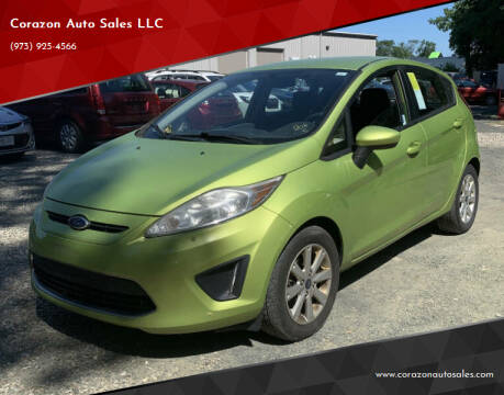 2011 Ford Fiesta for sale at Corazon Auto Sales LLC in Paterson NJ